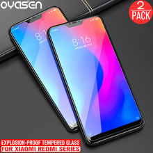 2Pcs/lot For Xiaomi Redmi 5 Plus 6 Pro 6A 5A Note 7 Mi A2 Lite 9H Explosion-proof Tempered Glass Screen Protective Film