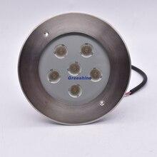 18 Вт подземный свет светодиодный подземный светильник 24 В из нержавеющей стали Встраиваемый свет наружная лампа 8 шт./партия