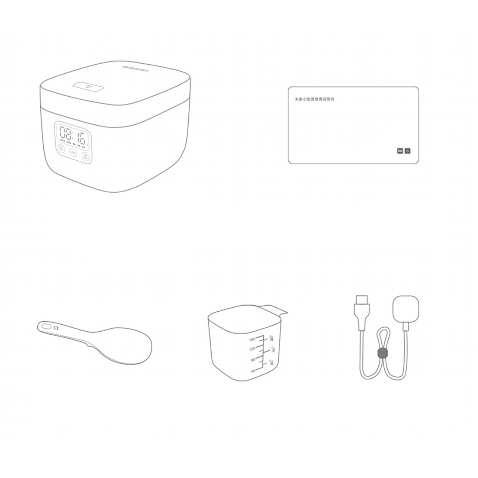 small resolution of diagram of rice cooker