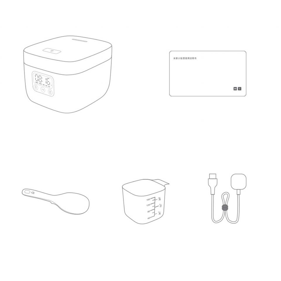 หม้อหุงข้าว xiaomi 1.6 ลิตร