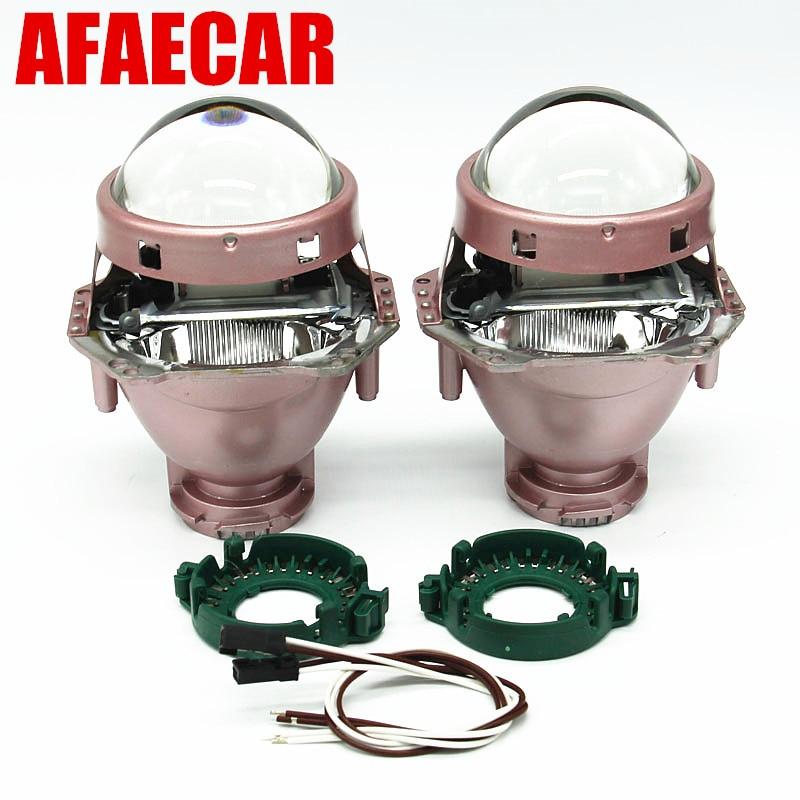 AFAECAR 3 Inch Bi xenon Projector Lens Headlight LHD RHD Using D2H D2S D1S D3S D4S