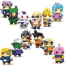 Building Blocks Toy dragon ball z sets brickheadz model headz kids toys for children Legoings mayoreo