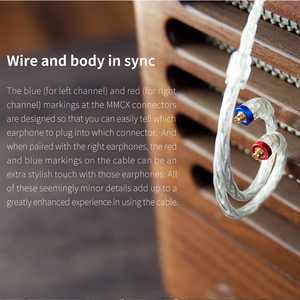 Image 4 - FIIO LC 2.5C LC 3.5C LC 4.4C Standard MMCX 3.5/2.5/4.4mm Hand Woven Balanced Earphone Replacement Cable for Shure/UE /FIIO/JVC