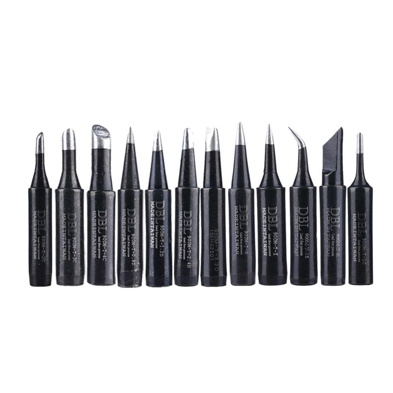 900M-T Lead-free Soldering Iron Tip Solder Welding Sting 900M-T-K 900M-T-I For 936/937/938/969/8586/852D Soldering Station