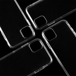 Image 5 - 100Pcs שקוף סיליקון TPU רך כיסוי עבור iPhone 11 12 מקרה עבור iPhone 11 פרו מקרה עבור iPhone 11 פרו מקסימום Ultra דק מקרה