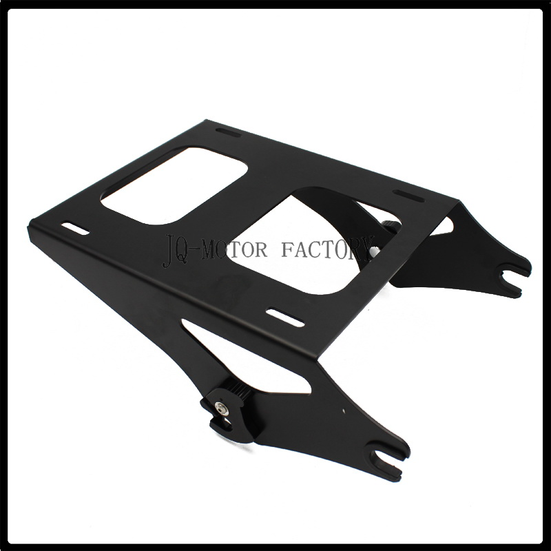Detachable Two-Up Tour Pak Pack Mounting Luggage Rack For Harley Touring 2014-UP