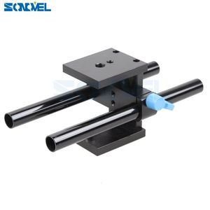 Image 5 - Sonovel คุณภาพสูง 15mm Rail Rod Support System Baseplate Mount สำหรับ Canon DSLR Follow Focus RIG 5D2 5D 5D3 7D