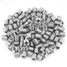 100pcs/set M8x1.25x2D Thread Inserts Stainless Steel Wire Screw Sleeve Coiled Wire Helical Screw Thread Inserts Fastener(China)