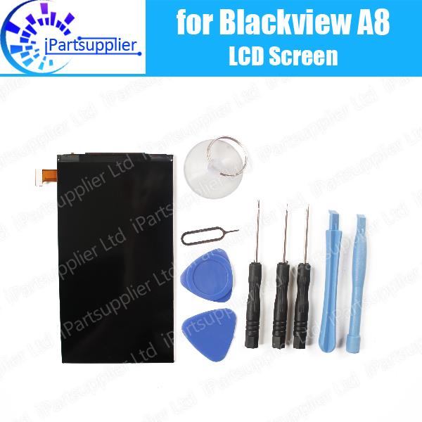 100% original novo para blackview a8 telefone móvel lcd screen display substituição assembleia + ferramentas gratuitas