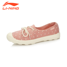 Li-Ning Women Light Street Shoes Walking Shoes Leisure Lifestyle Footwear Sneakers Breathable Sports Shoes GLAL098