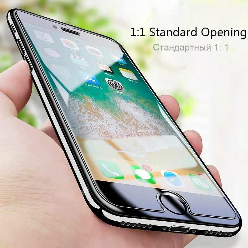 2 sztuk/partia przeciwwybuchowe szkło hartowane dla iPhone 11 Pro XS MAX XR X 8 6S 6 7 plus 5S 5 SE 4 folia ochronna na ekran