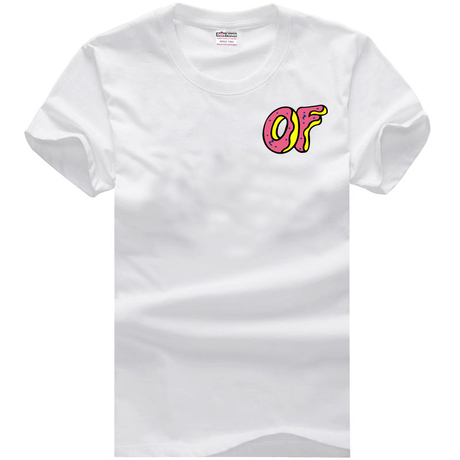 cde3c3821c0a ODD FUTURE OFWGKTA Golf Wang Wolf Gang HIPHOP sitcoms man men male cotton short  sleeve T shirt-in T-Shirts from Men s Clothing   Accessories on ...