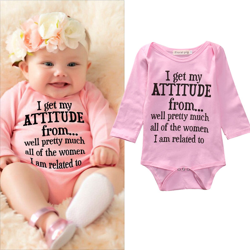 Newborn Infant Baby Girl Clothes Toddler Kids Long Sleeve Cotton Bodysuit Jumpsuit Outfit Bebes Suit 0-18M