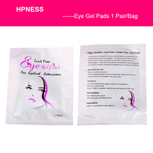 HPNESS Eyelash Pads Gel Patch Under Eye Lint Free Lashes Extension Mask Makeup