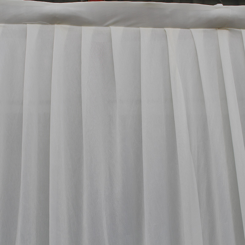 Dhl White 3 6m 10ft 20ft Wedding Backdrop Curtain Ice Silk Swag Stage Curtains Decoration Free Shipping In Party Backdrops From Home
