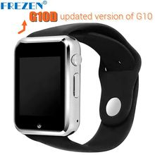 Smart Watch G10D Bluetooth wristwatch sport pedometer watches MTK6261D sim card Inteligente Smartwatch for Android smartphone