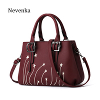 Nevenka Women Shoulder Bag Original Female Luxury Handbag Shoulder Bag PU Bags Casual Crossbody Bags Leather