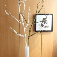 1 шт. Красивые Искусственные 115 см(45 дюймов) длинные мягкие пластиковые сушеные ветки дерева растения Свадебные украшения дома F306