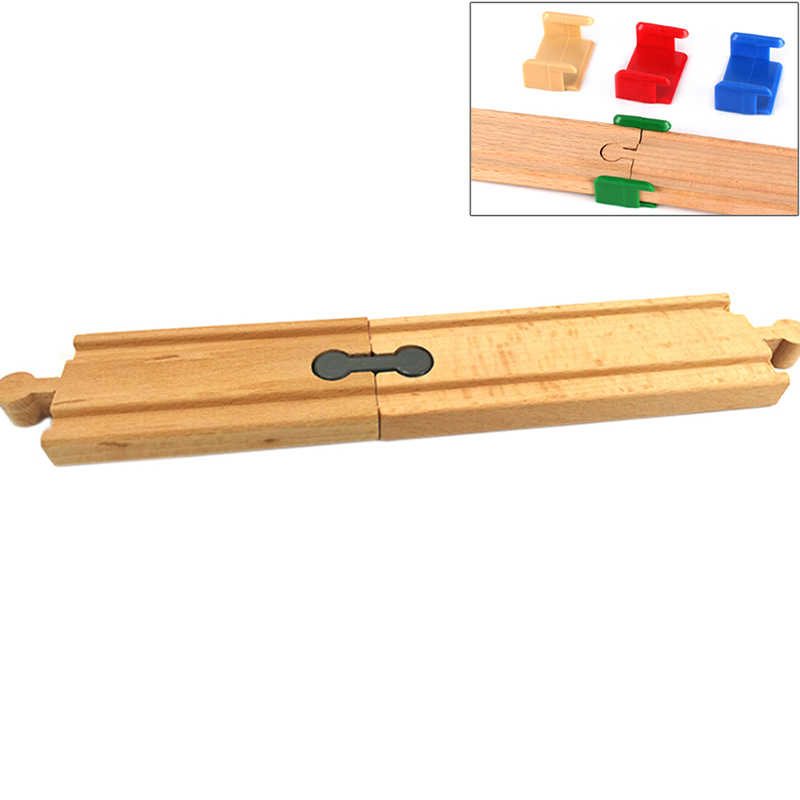 5/10/4PCS Train Toys Railway Track  Holder Fit For Wooden Track Car Toys Engine Models Building Toy For Boys