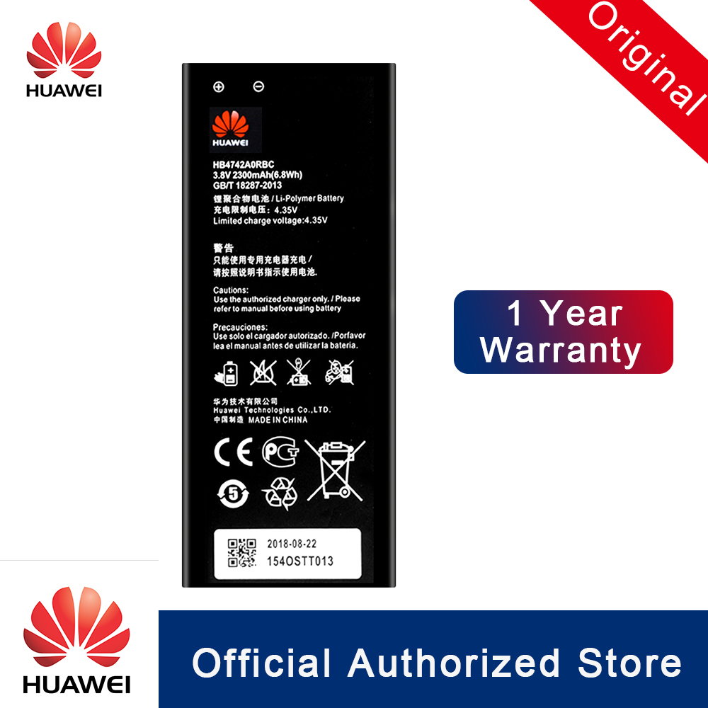 Huawei 100%Original Battery Honor 3c HB4742A0RBC H30-U10 High-Capacity For G630/G730/G740/..