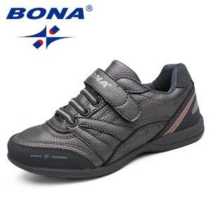 Image 5 - BONA החדש קלאסיקות סגנון ילדי נעליים יומיומיות וו & לולאה בני נעליים חיצוני הליכה Jooging סניקרס נוח משלוח חינם