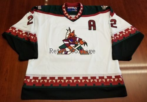 Phoenix Coyotes #22 Rick Tocchet throwback MENS Hockey Jersey Embroidery Stitched Customize any number and namePhoenix Coyotes #22 Rick Tocchet throwback MENS Hockey Jersey Embroidery Stitched Customize any number and name