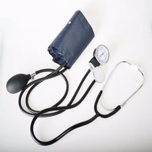 Pressure Strap Stethoscope Medical Sphygmomanometer Arm Double Head