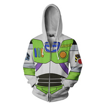 Fans Wear Anime Hoodie 3d Printed Sweatshirt Buzz Lightyear Cosplay Hooded Sweatshirts Men Women Fan