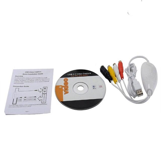 Carte de Capture de convertisseur VHS vers DVD, transfert de la vieille bande vhs dans un fichier numérique, Windows10 Win10 et MAC OS