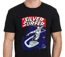 The Silver Surfer Marvel Super Hero Comic Vintage Classic Mens T-Shirt Sz S-3XL T Shirt for Men/Boy Short Sleeve Cool Tees