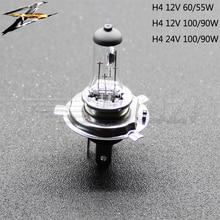 2 pcs H4 Halogen Light 12V/24V 60/55W 100/90W Car Halogen Bulb 4300K Yellowish white Fog Bulb Car Head Lamp Light Car Light Bulb