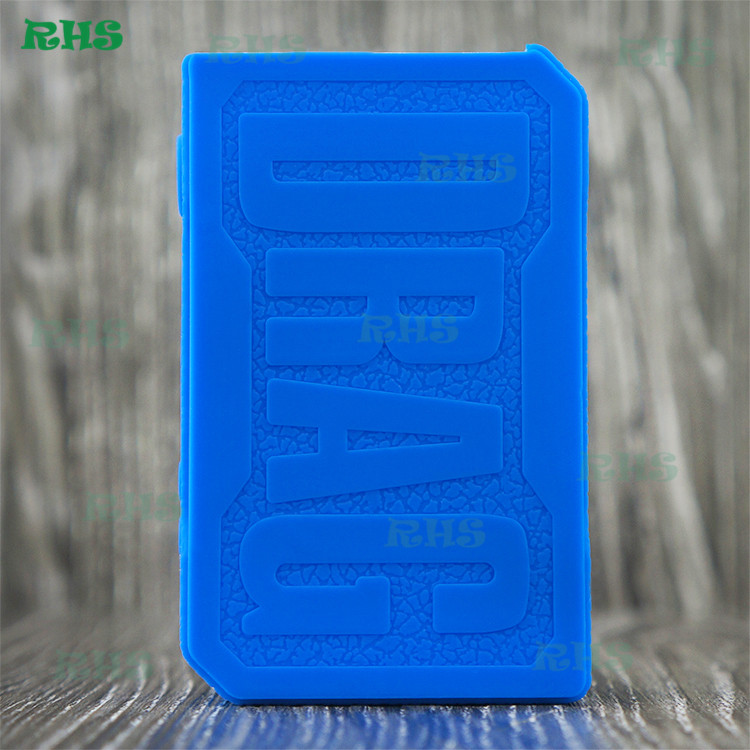 2pcs RHS brand factory Present Newest Silicone Case for VOOPOO DRAG 157W vaping mods for sale in large stock free shipping