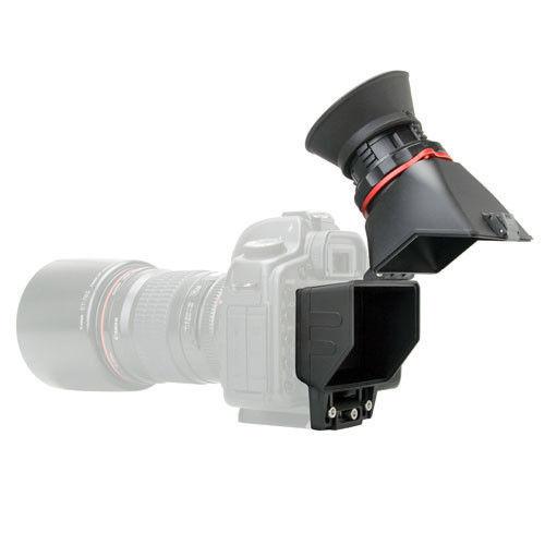 KAMERAR QV-1 LCD Viewfinder Localizador Para CANON Mark III II 6D 5D Vie 7D 60D 70D, para Nikon D800 D800E D610 D600 D7200 D90 Genunie
