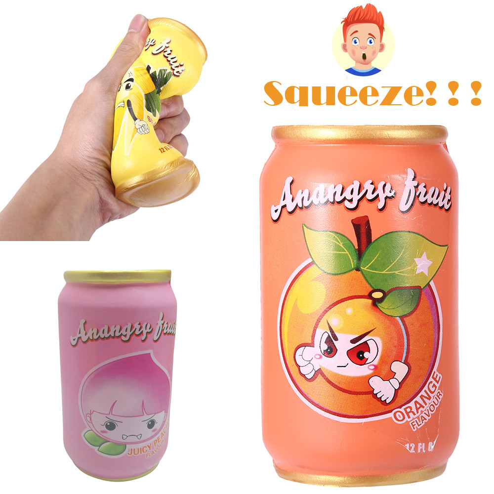 1PC Simulation Juice Slow Rising Collection Squeeze Stress Reliever Toy Squishes Anti Stress Squishy Squeeze Toys W911