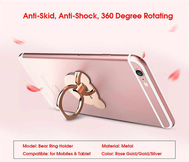 agarre giratorio 180/° tableta ISKIP Soporte de anillo para tel/éfono m/óvil soporte para anillo de dedo para tel/éfono m/óvil rotaci/ón de 360/° universal para tel/éfono m/óvil