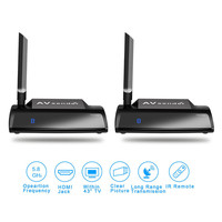 5 8GHz HDMI AV Sender TV Wireless Audio Stereo Video Transmitter IR Remote Receiver Adapter Radio