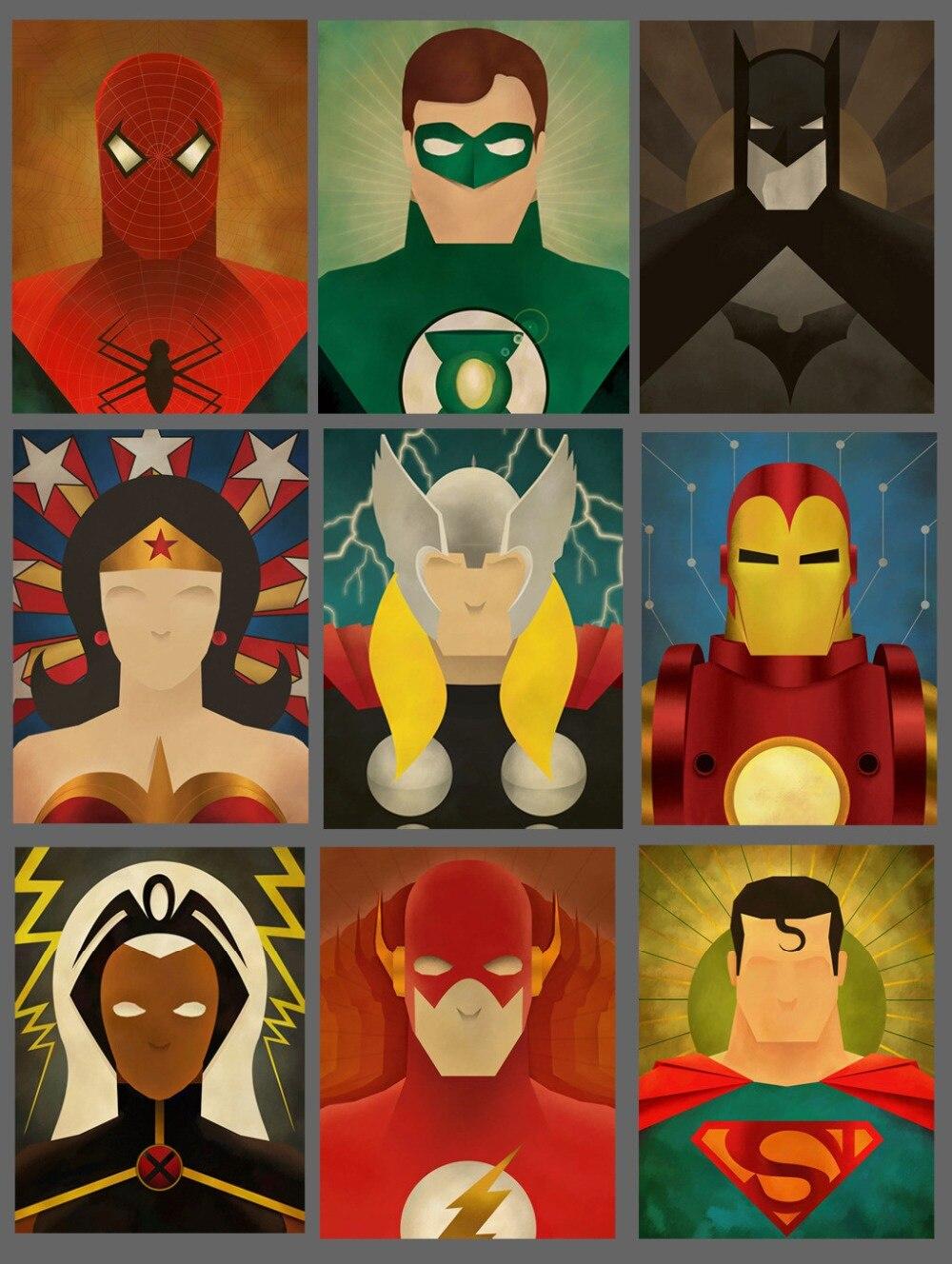 Heroes schilderijen prints promotie winkel voor promoties heroes ...