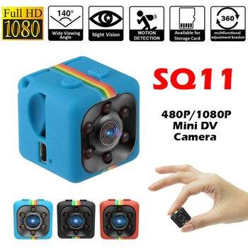 SQ11 480 P/1080 P Mini Kamera Espia Oculta Micro Video Gizli Kamera Kleine DV DVR Tasche Camaras HD körper Cam Unterstützung Versteckte TF Karte