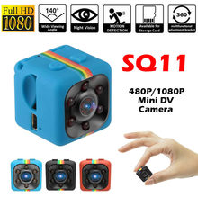 SQ11 480P/1080P Mini Camera Espia Oculta Micro Video Gizli Kamera Kleine Dv Dvr Pocket Camaras Hd body Cam Ondersteuning Verborgen Tf Card(China)