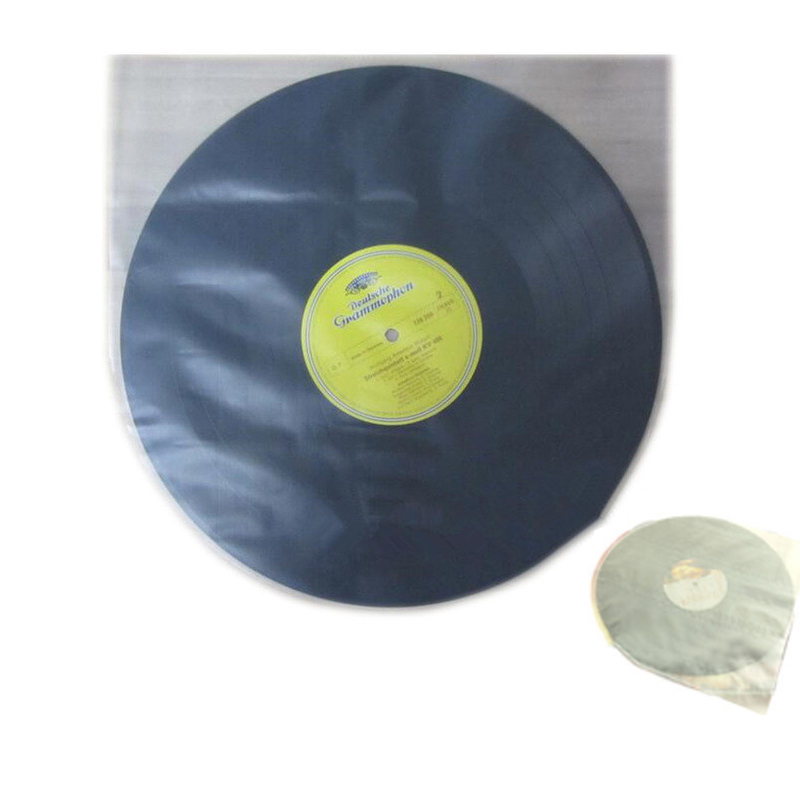 """100 шт/50 шт LP граммофон записи долгоиграющей записи внутренние пластиковые пакеты Внутренние рукава для LP records 12"""""""