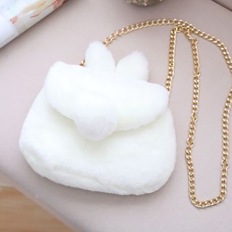 8 Kinds Rabbit Plush Toy 24*17 cm Plush Bag High Quality Soft Cotton Brinquedos Animals For Girls Gift