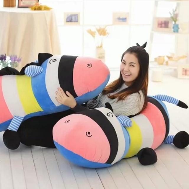 2016 творческим цветной ночник-излучающие подушка осел, Цветные осел куклы плюшевые игрушки, Бесплатная доставка
