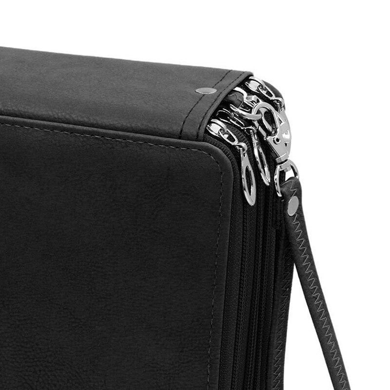 Image 5 - 168 Slots Super Large Capacity Pen Bag Zipper Strap For Prismatic Watercolor Pencils Colored Pencils Organizer School Supplies-in Pencil Bags from Office & School Supplies