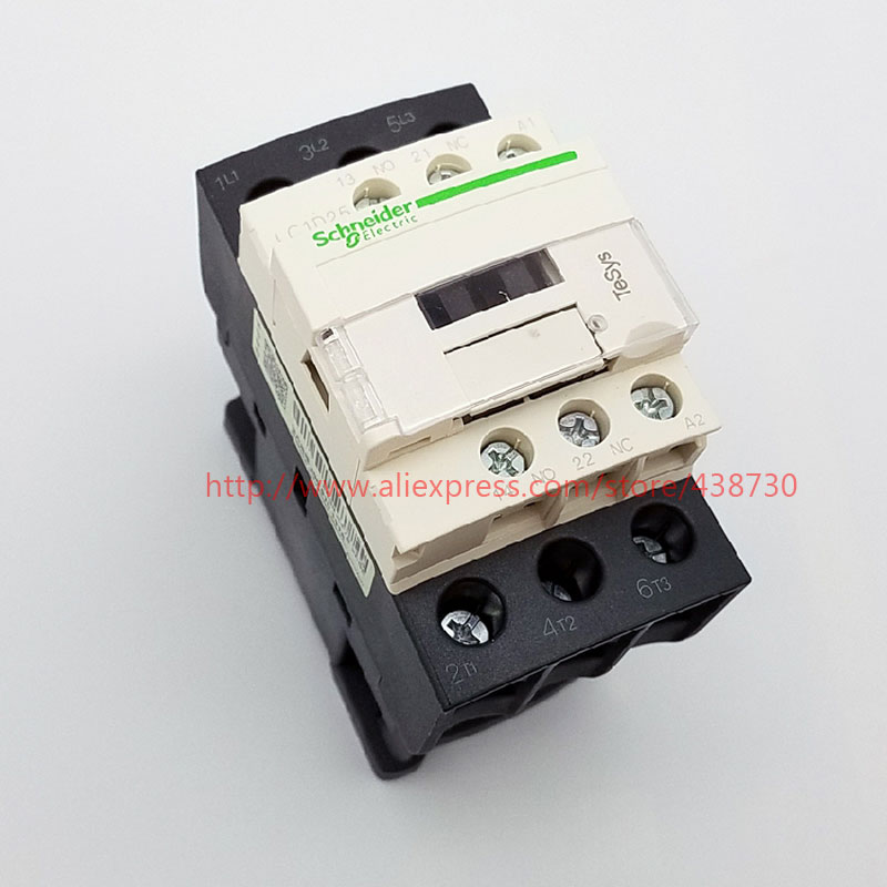 HTB1HciTQVXXXXa1XXXXq6xXFXXX1 - 1pcs AC contactor LC1-D25M7C LC1D25M7C AC220V 24V110V 380V free shipping