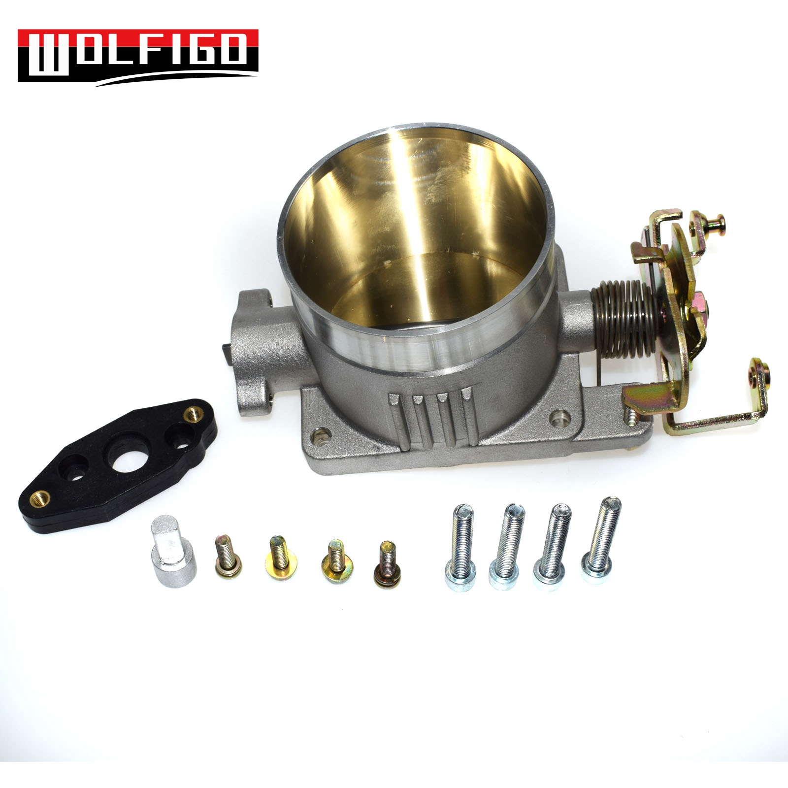 WOLFIGO New Throttle Body Direct Bolt Assembly fit for Ford Musang 4 6L 2V 75mm 1996