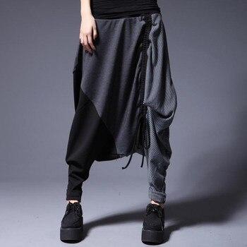 pantalones harem grueso Pantalones yardas gratis invierno mm nuevos envío fat personalidad suelta mujer 2015 wT48HT