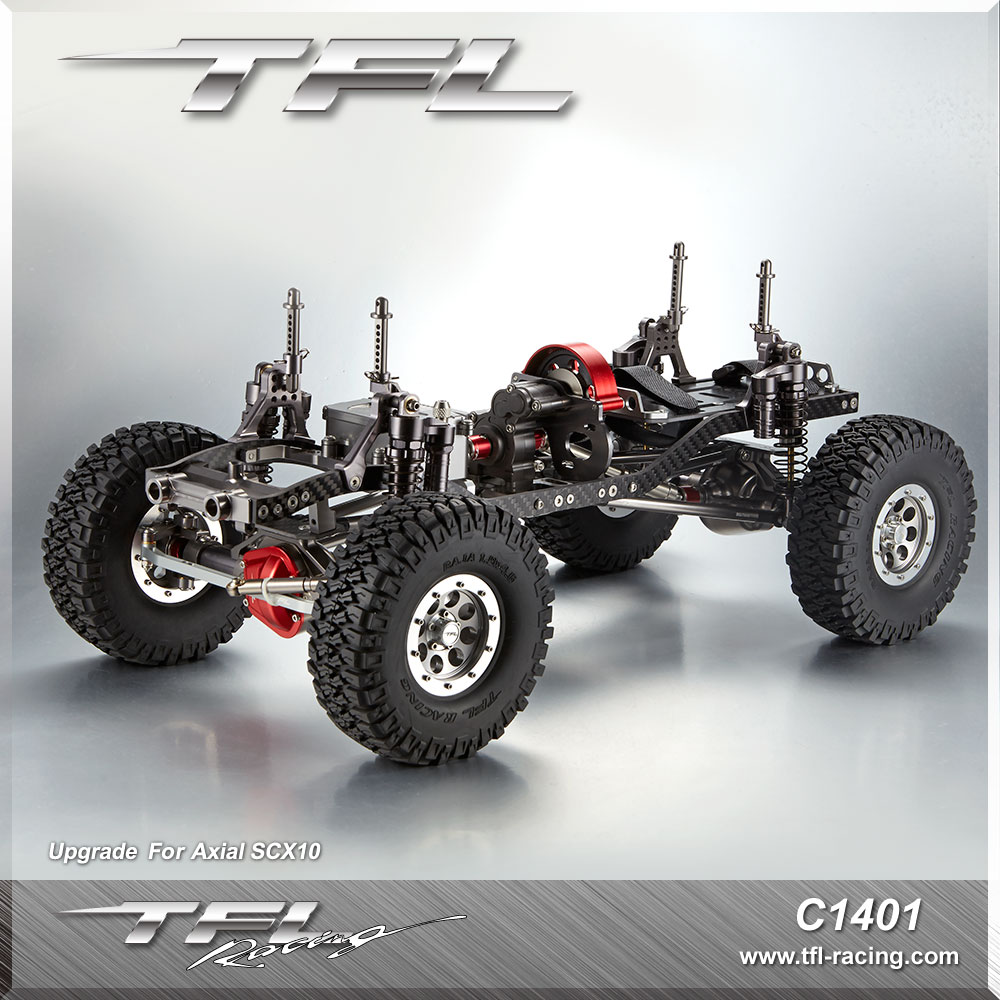 TFL SCX10 series metal climbing car 313305 wheelbase FOR RC CARS With RC4WD motor /ESC/servos