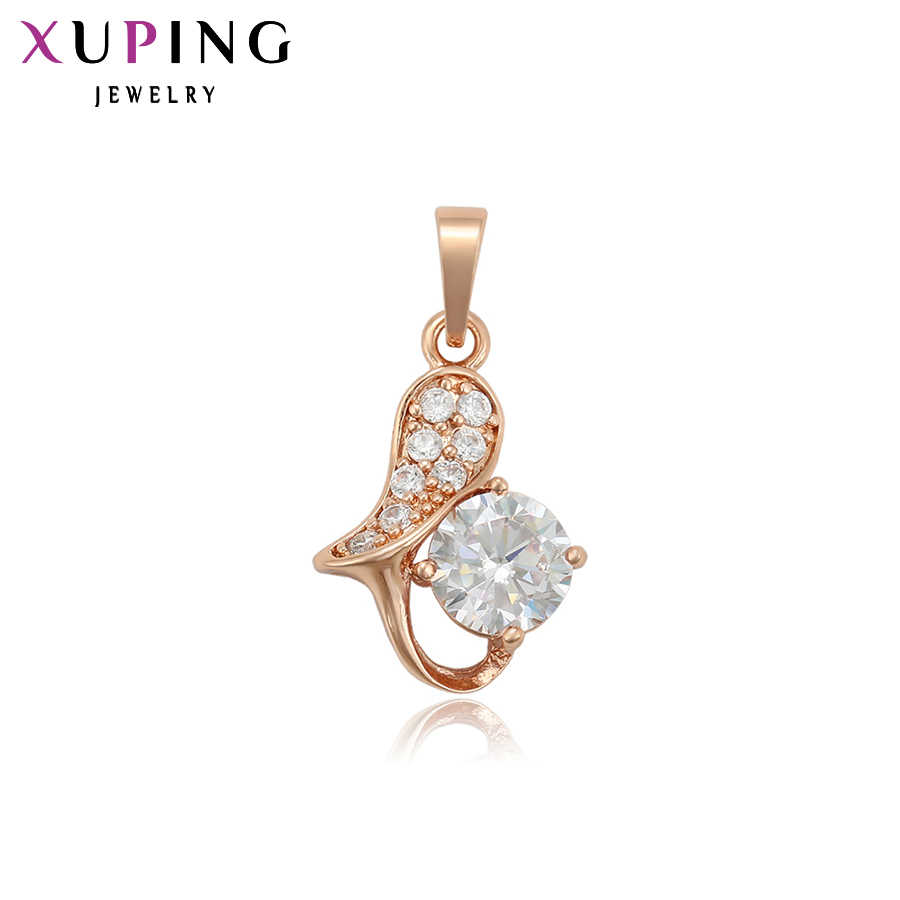 Xuping Fashion Lovely Necklace Pendant Romantic Exquisite Jewelry for Women Girls Popular Design Christmas Gift S91.1-34042