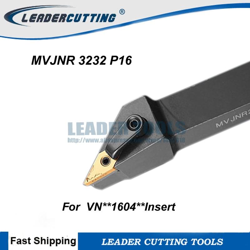 MVVNN 2020K16 20×125mm Index External Lathe Turning Holder For VNMG1604 inserts