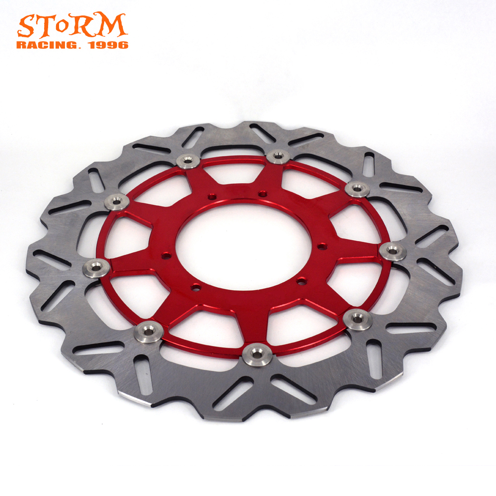 320MM Front Floating Brake Disc Rotor For CR125 CR250 CRF250X CRF250X CRF250R CRF450R CRF450X CR500 CR 250 CRF 250R 250X 450R keoghs motorcycle brake disc brake rotor floating 260mm 82mm diameter cnc for yamaha scooter bws cygnus front disc replace